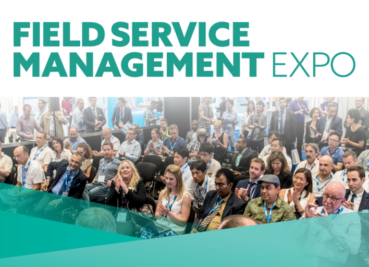 We're off  to the Field Service Management Expo