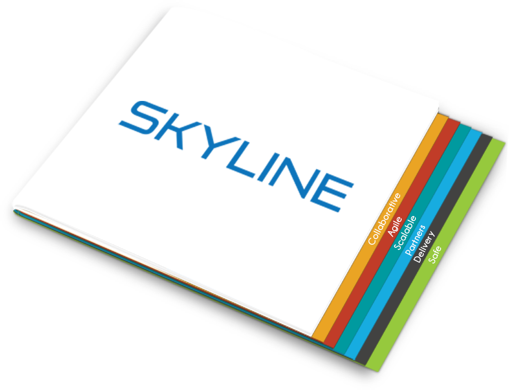 Download our corporate brochure to find out how Skyline can benefit your business.